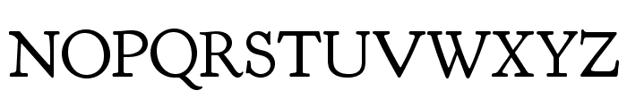 Goudy Bookletter 1911 Font UPPERCASE