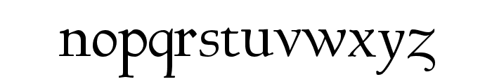GoudyHundred Font LOWERCASE