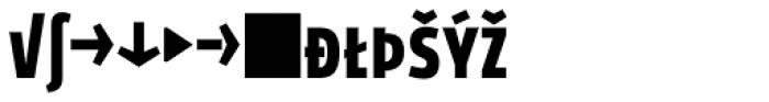 Golary Red Bold Caps Expert Font LOWERCASE