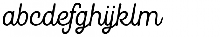 Goodwater Script 1 Font LOWERCASE