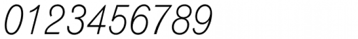 Gothic 720 Light Italic Font OTHER CHARS