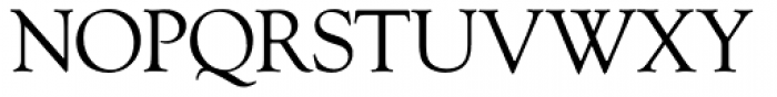 Goudy Old Style SH Roman Font UPPERCASE