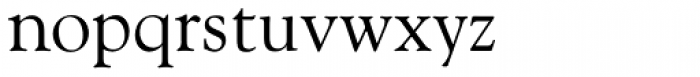 Goudy Old Style Font LOWERCASE