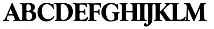 Goudy Serial ExtraBold Font UPPERCASE