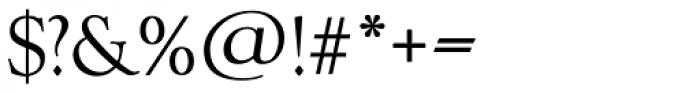 Goudy TS Regular Font OTHER CHARS