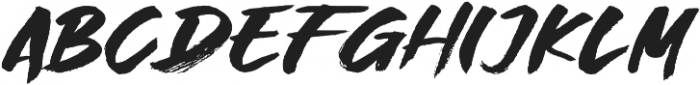 Great Fighter otf (400) Font UPPERCASE