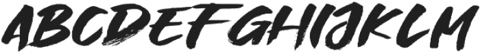 Great Fighter otf (400) Font LOWERCASE