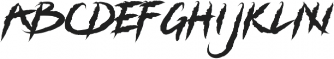 Grizzly Attack otf (400) Font LOWERCASE