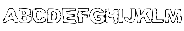 Gramps Lung Font UPPERCASE