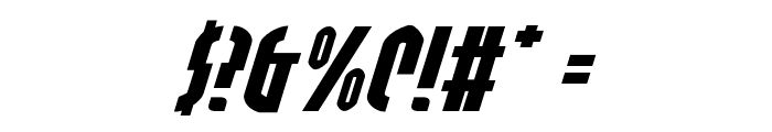 Grendel's Mother Exp Italic Font OTHER CHARS