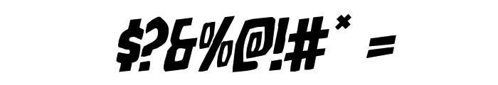 Grim Ghost Rotalic Font OTHER CHARS