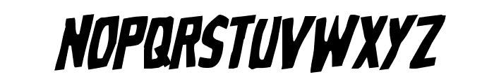 Grim Ghost Rotalic Font LOWERCASE