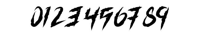 Grizzly Attack Font OTHER CHARS