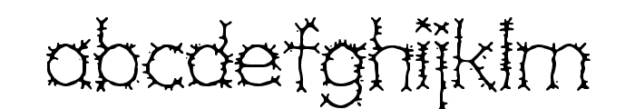 Grotesque BRK Font LOWERCASE