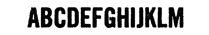 Growly Grin Font LOWERCASE