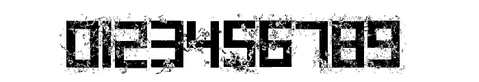 Grungy Font OTHER CHARS