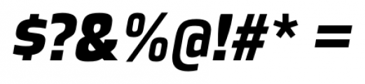 Great Escape Black Italic Font OTHER CHARS
