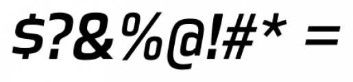 Great Escape Regular Italic Font OTHER CHARS