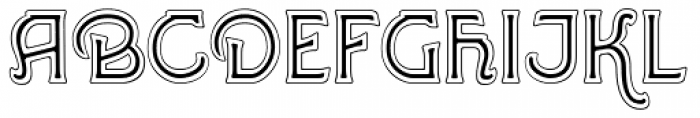 Greene And Hollins No1 Font UPPERCASE