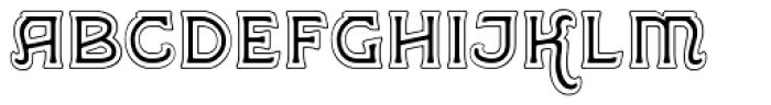 Greene And Hollins No1 Font LOWERCASE