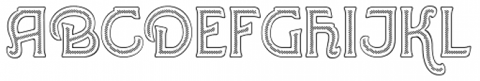 Greene And Hollins No3 Font UPPERCASE