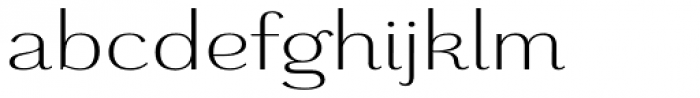 Grenale Ext Book Font LOWERCASE