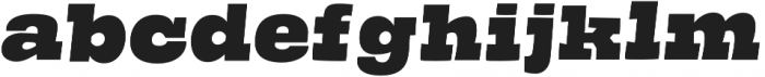 Guster otf (400) Font LOWERCASE