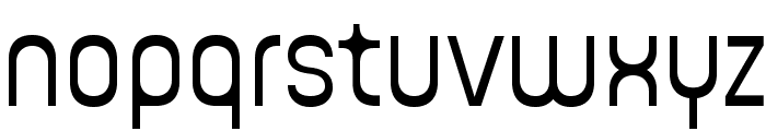 Guhly-Lightreduced Font LOWERCASE