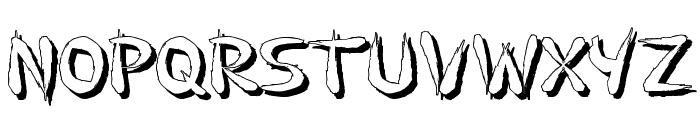 GuilinShadow Font LOWERCASE