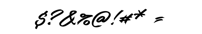Guld Script PERSONAL USE ONLY Font OTHER CHARS