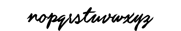 Guld Script PERSONAL USE ONLY Font LOWERCASE