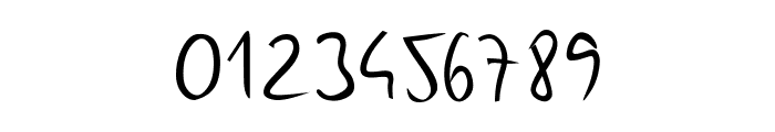 Gunny Handwriting Font OTHER CHARS