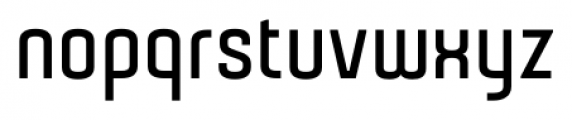 Gubia Bold Alternate Font LOWERCASE