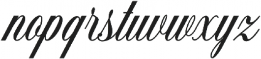 Handsome Script Extra Bold otf (700) Font LOWERCASE