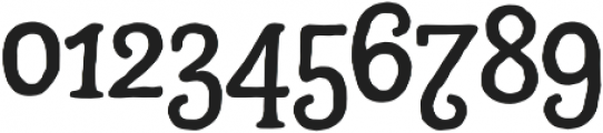 Hatter Cyrillic Display Normal otf (400) Font OTHER CHARS