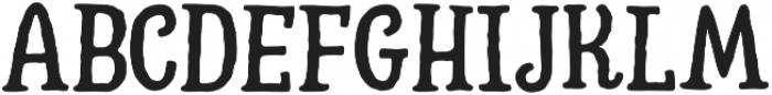 Hatter Cyrillic Display Normal otf (400) Font UPPERCASE