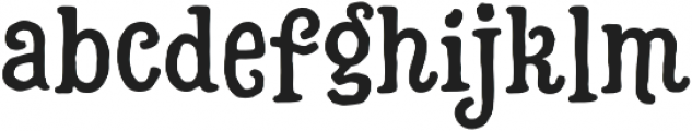 Hatter Cyrillic Display Normal otf (400) Font LOWERCASE
