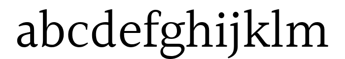 Halant Regular Font LOWERCASE