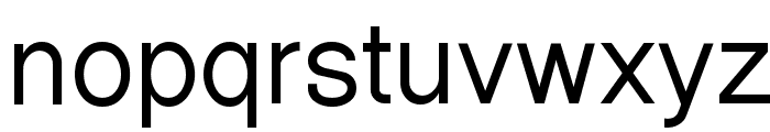 Halotique Tryout Font LOWERCASE