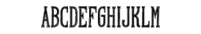Hand Shop Typography A20_demo Font UPPERCASE