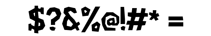 Hard Compound Font OTHER CHARS