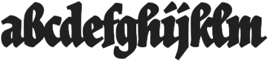 Herb Condensed Bold otf (700) Font LOWERCASE
