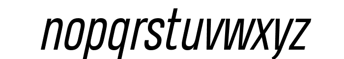 Heading Pro Trial Book Italic Font LOWERCASE