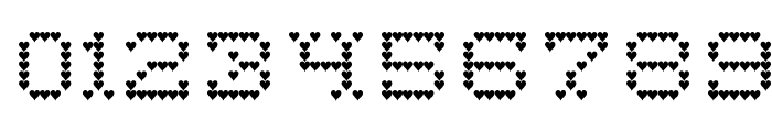 HeartSweetHeart-Regular Font OTHER CHARS