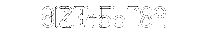 HelenBrown Outline Font OTHER CHARS