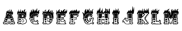 Hell Circus Font UPPERCASE