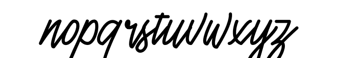 Henshin Script Personal Use Font LOWERCASE