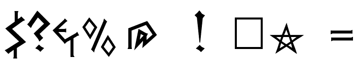 Herakles Font OTHER CHARS