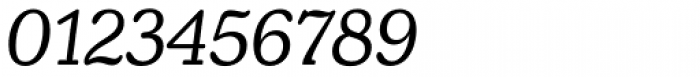Henriette Italic Font OTHER CHARS