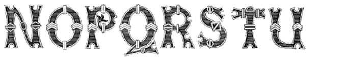 Henry8 Font LOWERCASE
